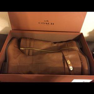 Coach Linette Calf Boots